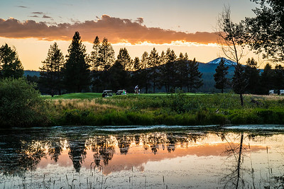 Sunriver Sunset (2014)