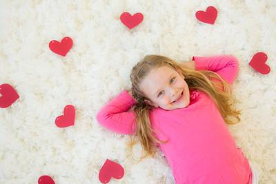Duarte Children Valentine's Mini-Session