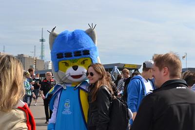 Hockey WM 2013,   Icy mascot , USA vs. GER