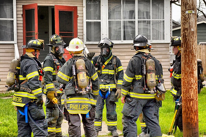 Jack Haley/Messenger Post MediaThe Canandaigua Fire Department responded to a call of a strong chemical odor at a resident on Adelaide Street early Monday afternoon. The source was a mopping solution on the stove.