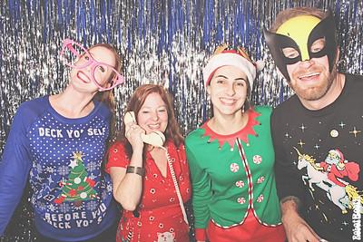 12-14-17 Atlanta Sapient Razorfish Office Photo Booth - Sapient Razorfish Holiday Party - Robot Booth