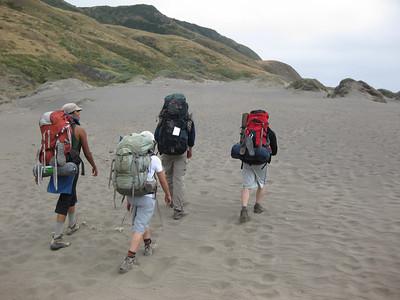 Lost Coast Hike 2011