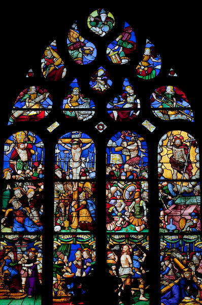 Pleyben, The Passion Window