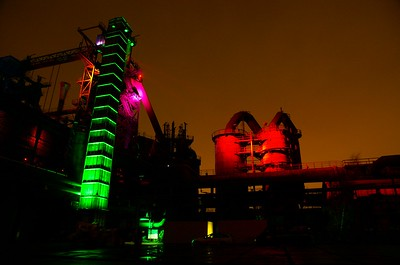 Duisburg LandschaftsPark Nord by night