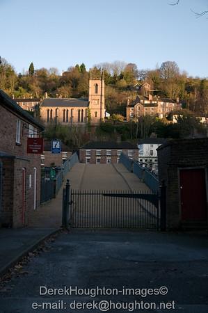 Ironbridge flood barriers 27.11.09
