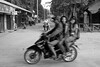 Street scene in Bagan, Myanmar