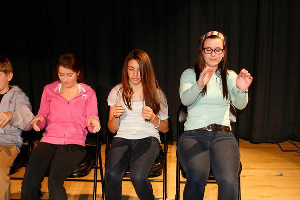 Whitman-Hanson Regional High School... November 30, 2012
