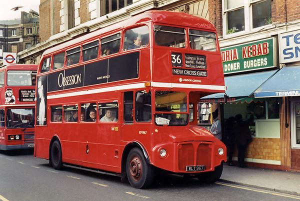 11th January 1995: London