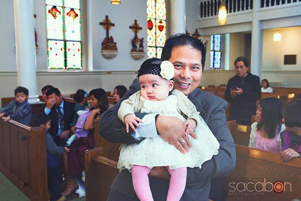 Samantha's Baptism