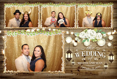 Brown Wedding Photobooth 9.18.2016