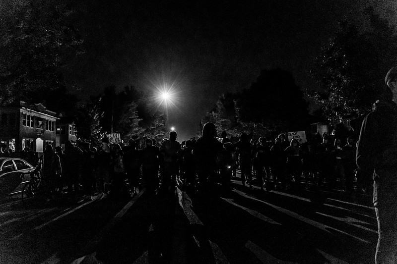 2020 10 07 Chauvin out of jail protest - BW-46.jpg