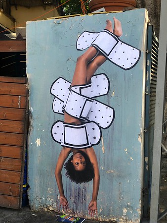 Day 14, Israel - More Tel Aviv with Neve Tzedek,  HaTahna, and a grafitti tour
