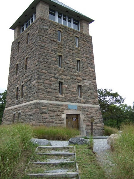 Lookout tower closed for renovation.  Maybe going condo?