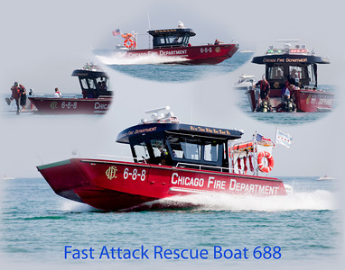 August 2009 New CFD Rescue Boat 688