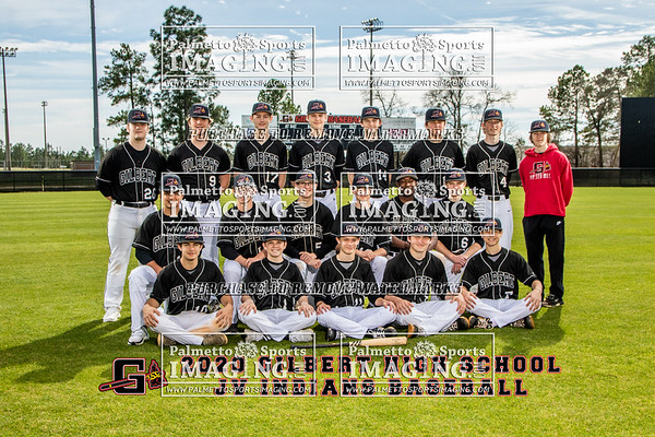 Gilbert High School JV Baseball Team and Individuals