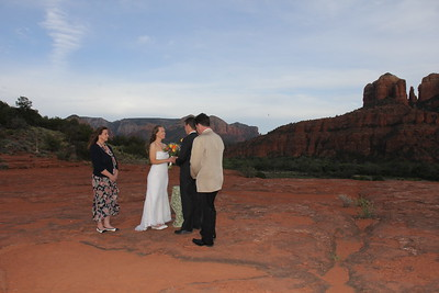 Secret Slick Rock Wedding with Best Friends