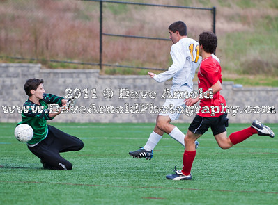 10/12/10 - Boys Varsity Soccer - Milton vs Needham