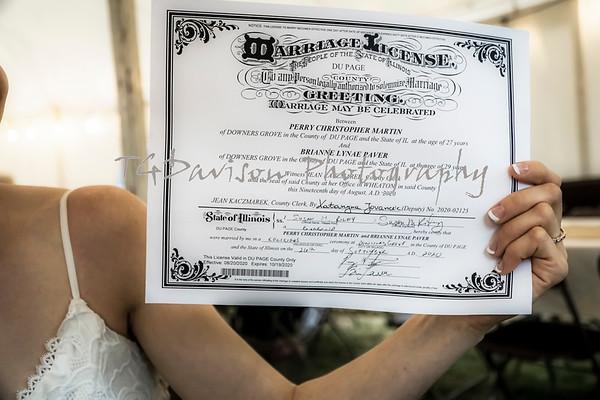 Perry/Brianne Martin Wedding 9/2020
