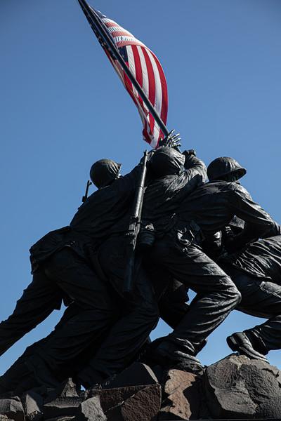 Iwo Jima, Air Force Memorials October 2019