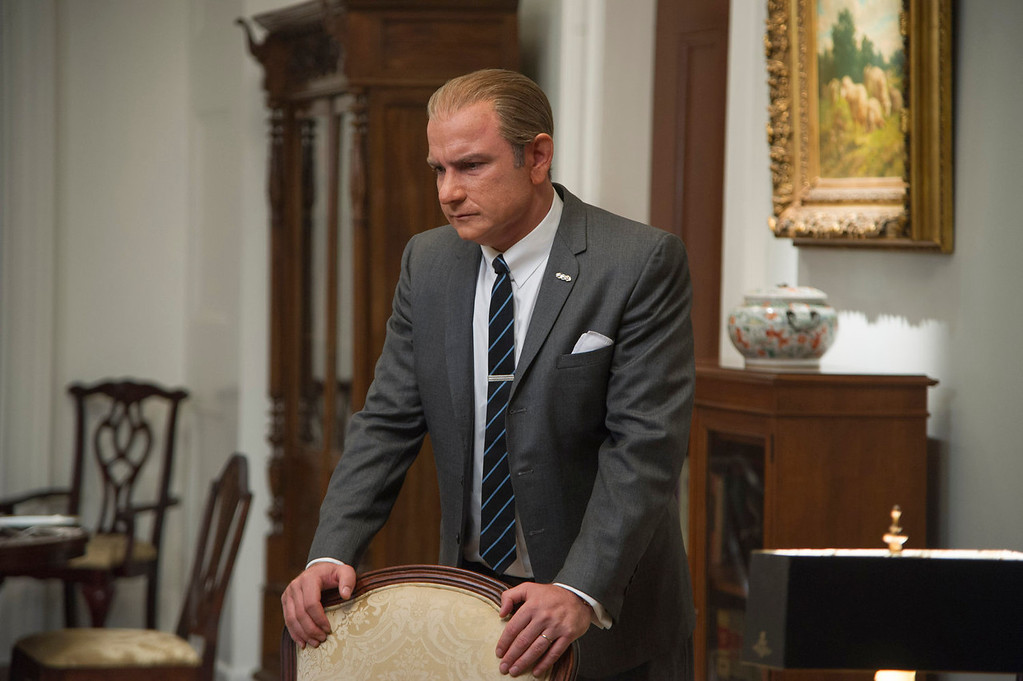 ". Liev Schreiber as Lyndon B. Johnson in a scene from ""Lee Daniels\' The Butler.\"" (AP Photo/The Weinstein Company, Anne Marie Fox)"