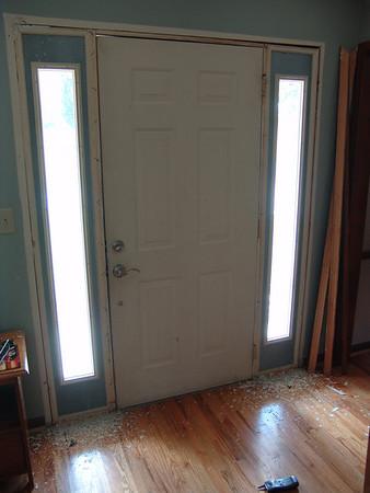 2003.03 Front Door Strip & re-paint