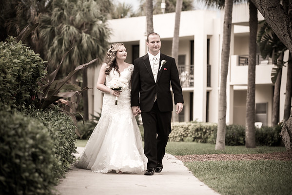 Cody & Alecia, St. Bonaventure Church - Hyatt Regency Pier 66 Wedding