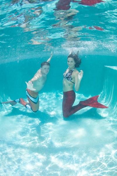 Mermaiding with the Davenport Family