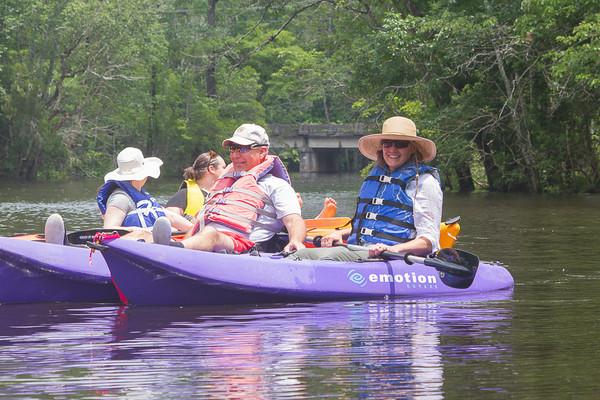 Kayaking in Newport