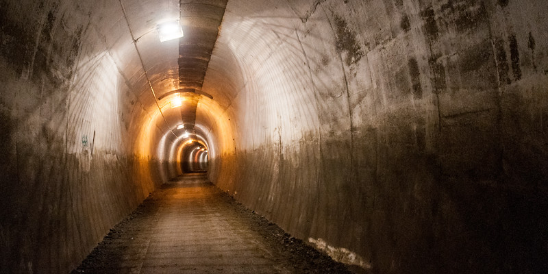 Penistone rail trail tunnel