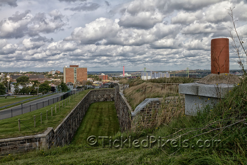 Fort George Fortifications, Citadel Hill