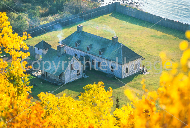 Grand Portage National Monument on Lake Superior
