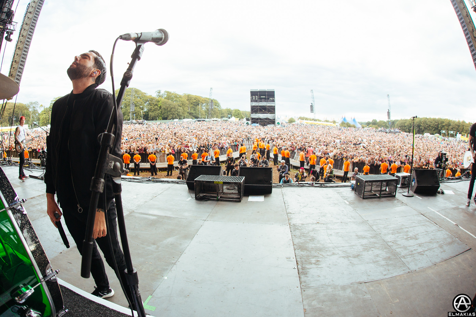 Jeremy McKinnon of A Day To Remember at Leeds Festival