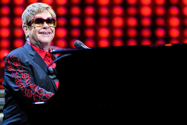 Elton John Coque 2017