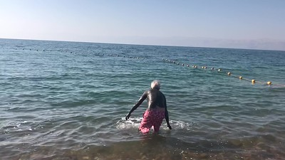 Floating in the Dead Sea 1