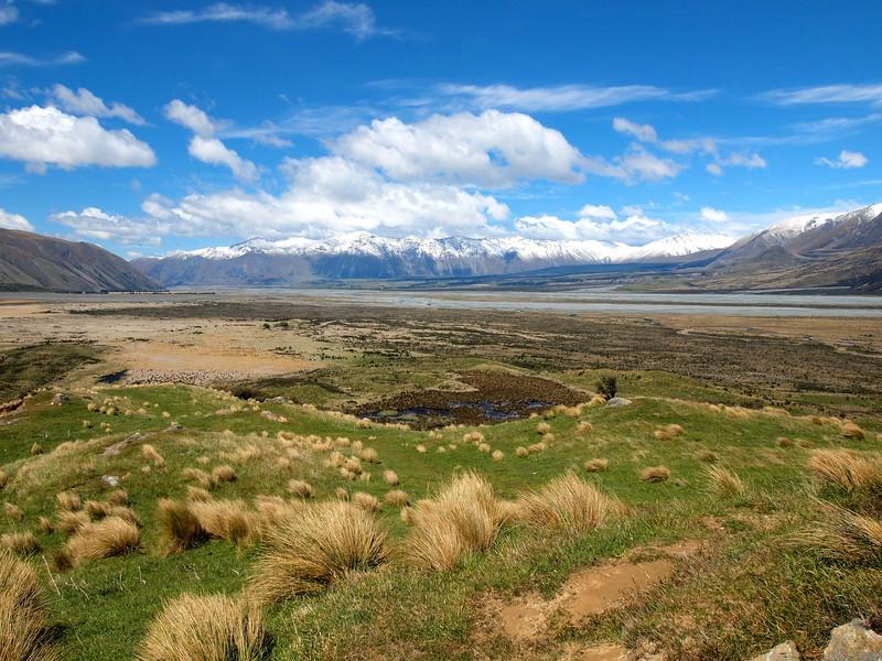 Edoras (Mount Sunday) in New Zealand