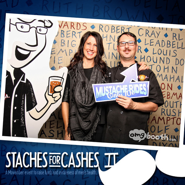 """11.30.2012 Staches for Cashes 2012D.B.A. Barbeque 