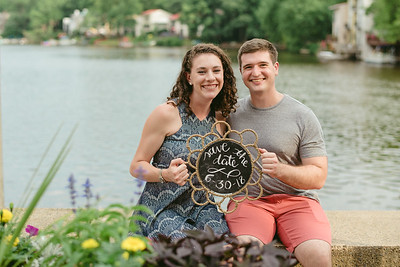 Sarah + Matt // Lake Anne Engagement