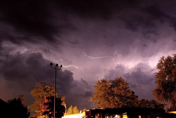 Lightening Storms