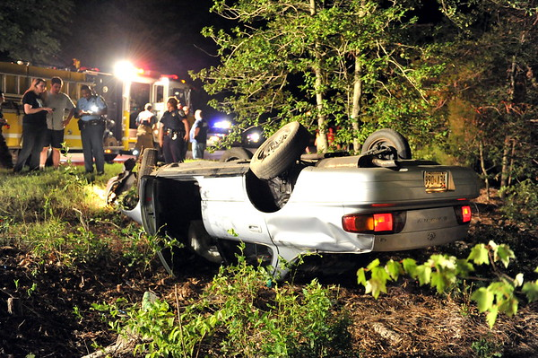 7/22/2010 Stolen Car Overturned on Pegg Rd