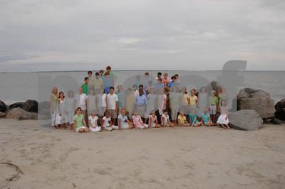 Calvary 5th Grade 2009-2010 Beach