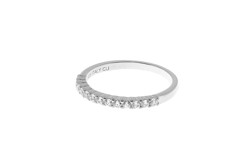 Two stone ring silver