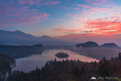 Bled and Bohinj - Oct 21, 2017