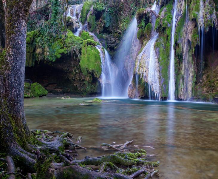 Cascade des Tufs aux Planches-près-Arbois.