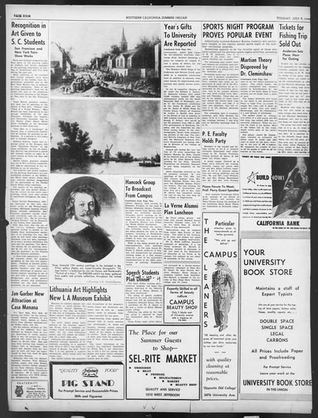Summer Trojan, Vol. 19, No. 5, July 09, 1940