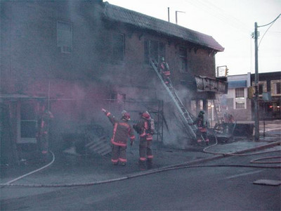 April 15, 2003 - 3rd Alarm - 1852 Danforth Ave.