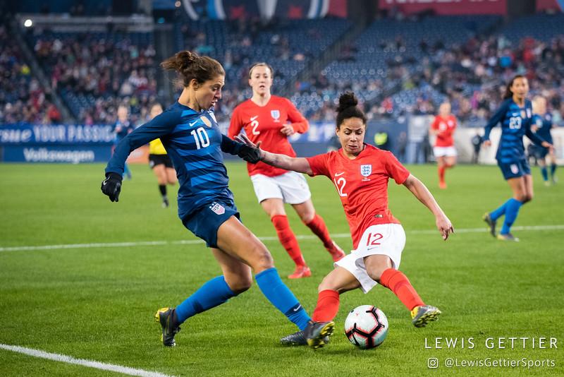USWNT vs England 3-2-2019