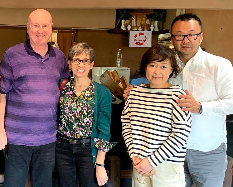 Joe & Silk with Rev. & Mrs. Yoji Nakayama