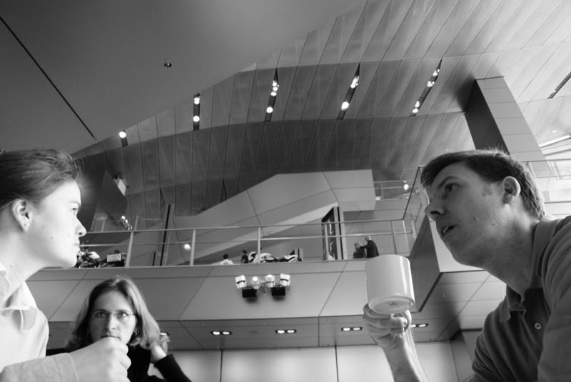 Coffee at BMW World