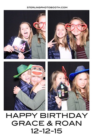 Happy Birthday Grace & Roan