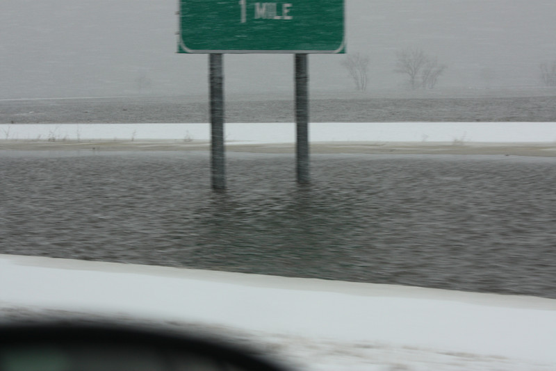 1 Mile to soaking wet